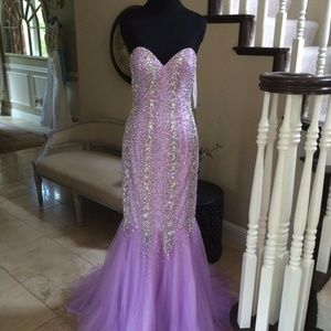 New Terani Couture Prom/Pageant dress